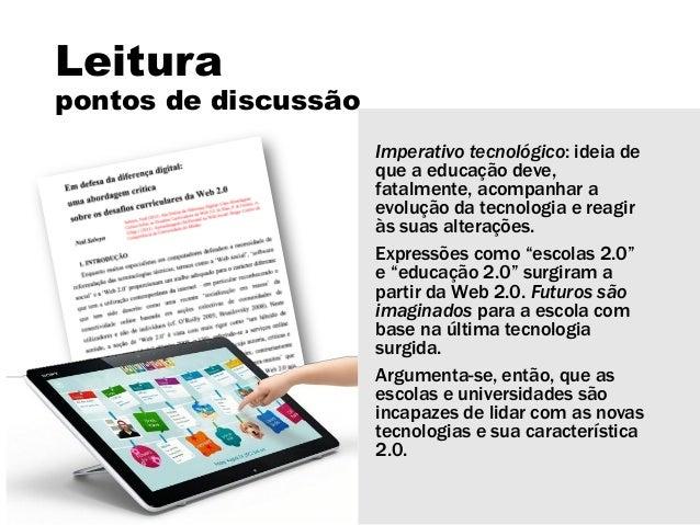 Educação aberta Slide 3