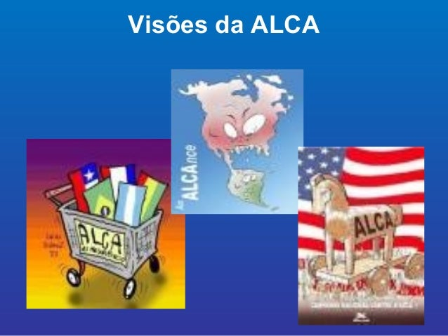 Blocos economicos regionais for Grupo alca