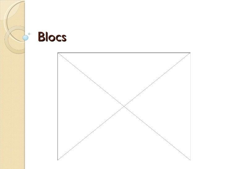 Blocs