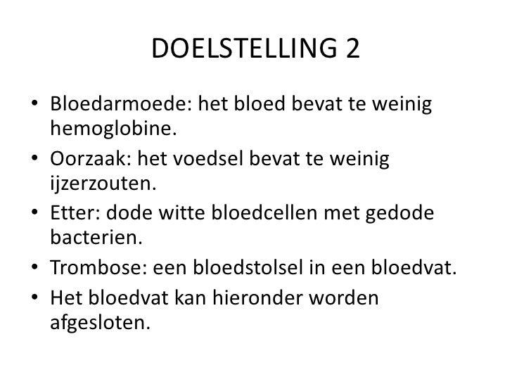 kenmerken bloedarmoede