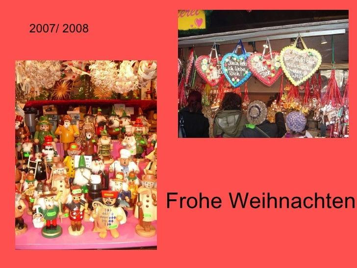 Frohe Weihnachten 2007/ 2008