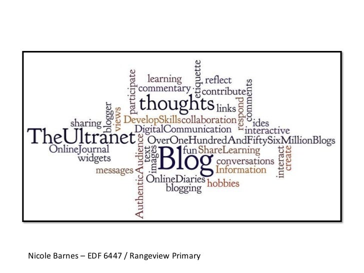 Nicole Barnes – EDF 6447 / Rangeview Primary<br />