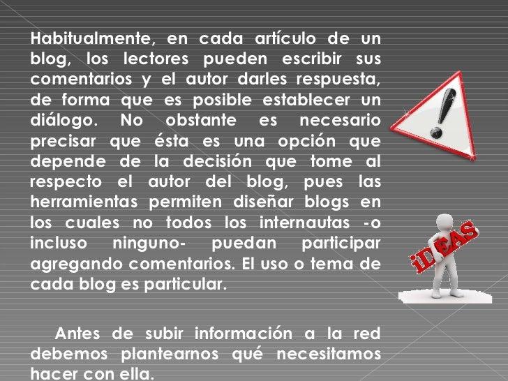 Presentación: Como hacer un blog Slide 3