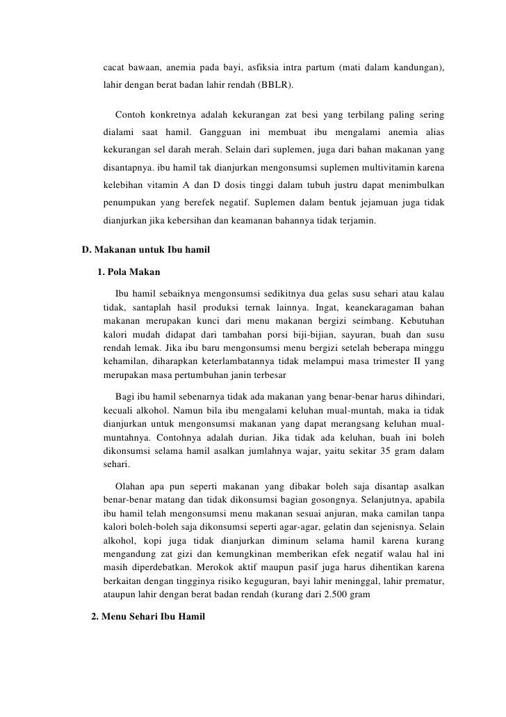 HUBUNGAN STATUS GIZI IBU HAMIL DENGAN BERAT BADAN BAYI BARU LAHIR