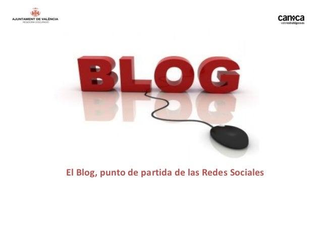 El Blog, punto de partida de las Redes Sociales