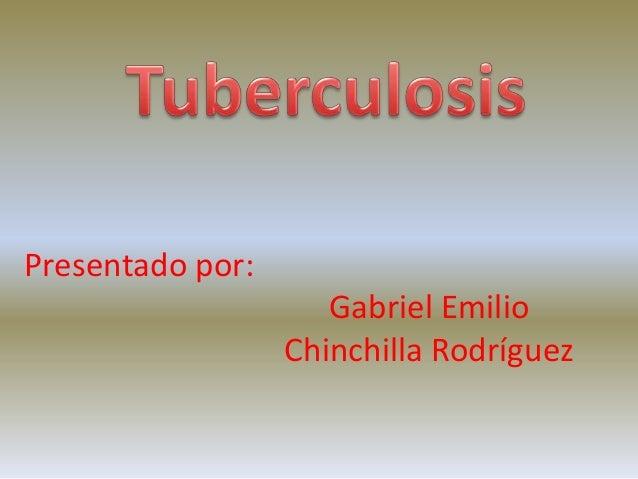 Presentado por:                     Gabriel Emilio                  Chinchilla Rodríguez