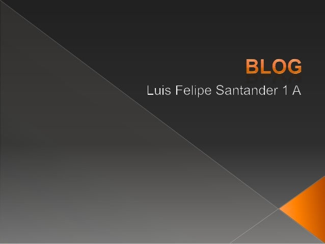  Determinar concepto y función de blog.