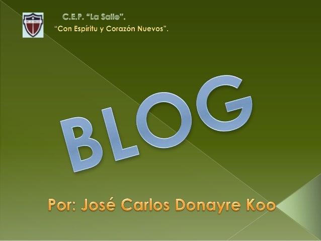 Inicio 1. ¿Qué es un Blog? 2. Descripción 3. Historia 4. Herramientas de Creación 5. Características Técnicas
