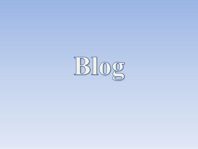 Um weblog, blog ou caderno digital é uma página da Web, cuja estrutura permite a atualização rápida a partir de acréscimos...