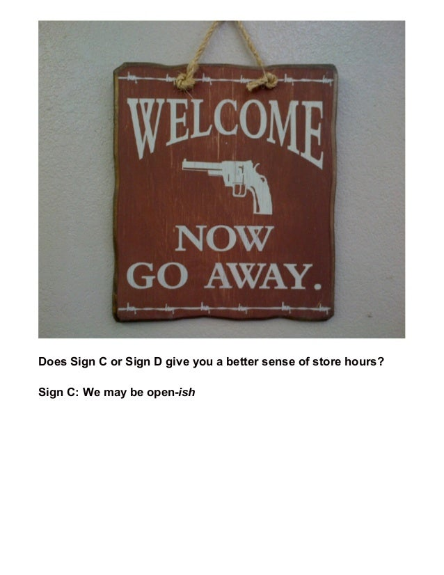 9 of the Best and Worst Small Business Welcome Signs