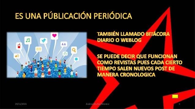 19/11/2015 Andrea Muñoz Moreno 5