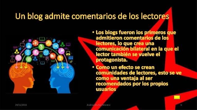 . 19/11/2015 Andrea Muñoz Moreno 6