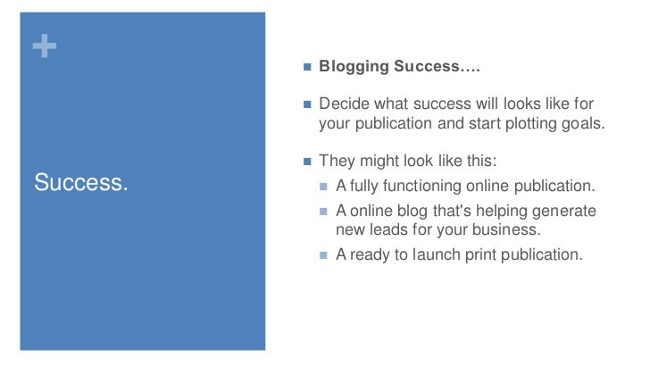 How to Make a Blogging Business Plan … Whether or Not it's a Business Blog
