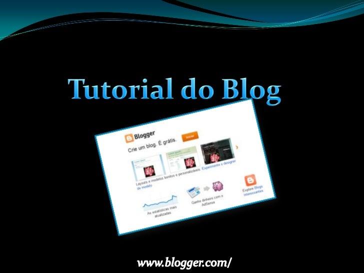 1. Acesse ao site: www.blogger.com;2. Caso você tenha uma conta Google (Gmail, Orkut, Youtube...) é só colocar   o e-mail ...