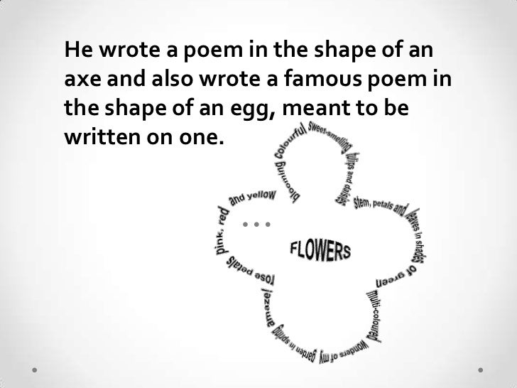 simple poem for grade 7