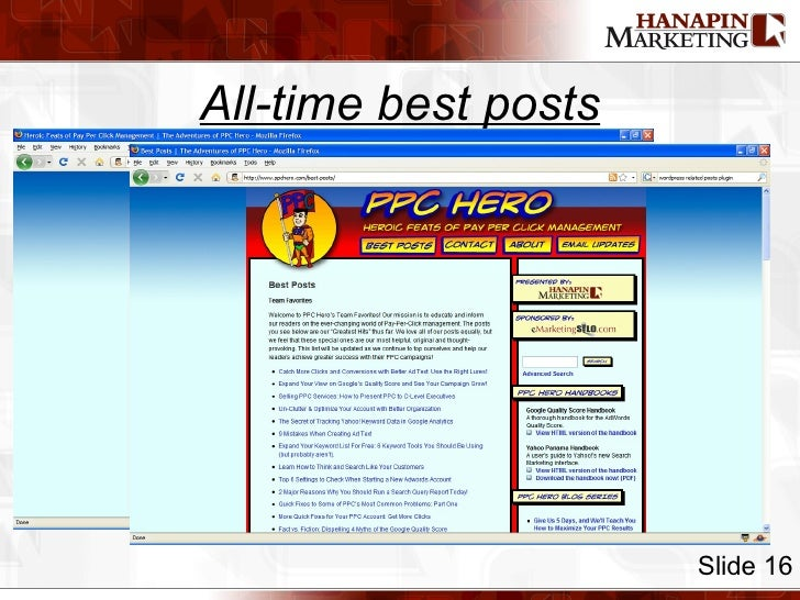All-time best posts Slide 16