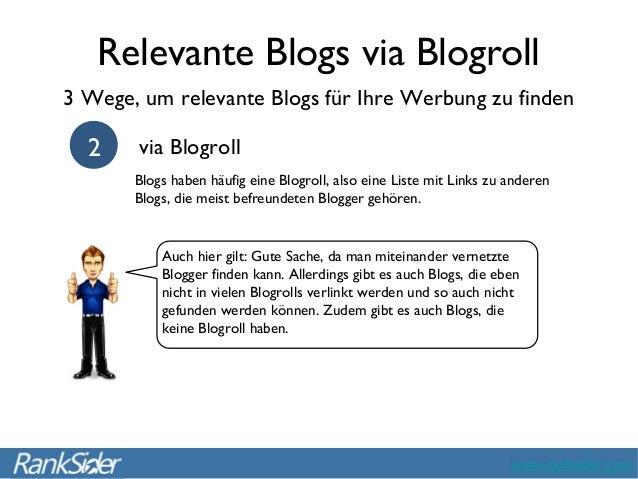 Blogs Finden marketing eine win win situation