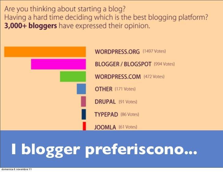 I blogger preferiscono...domenica 6 novembre 11