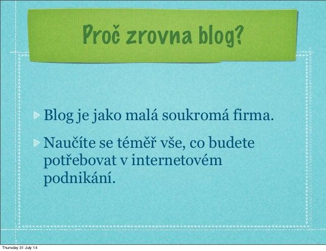 Jak vytvořit výdělečný blog (200000.cz) Slide 2