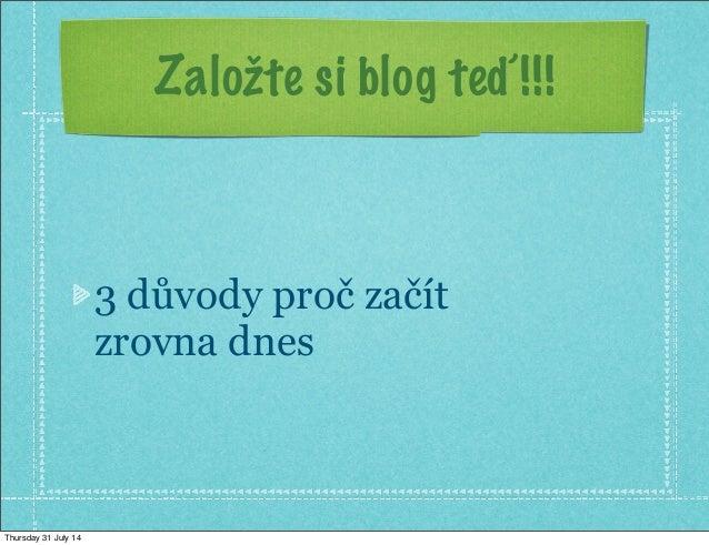 Jak vytvořit výdělečný blog (200000.cz) Slide 3