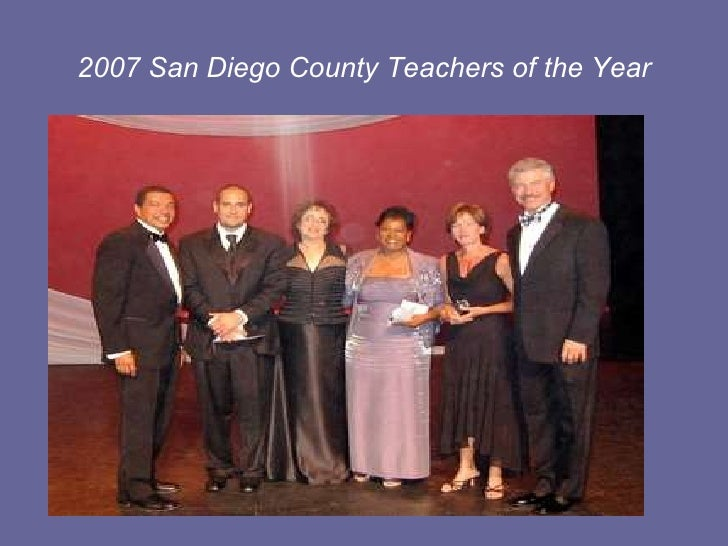 2007 San Diego County Teachers of the Year