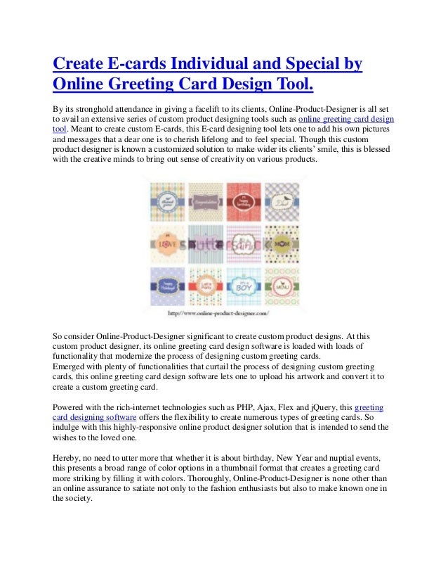 Create e cards individual and special by online greeting card design create e cards individual and special byonline greeting card design tool its stronghold m4hsunfo