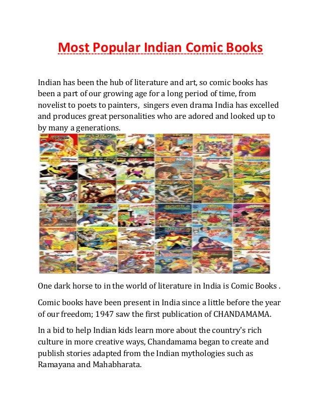 Most Popular Indian Comic Books