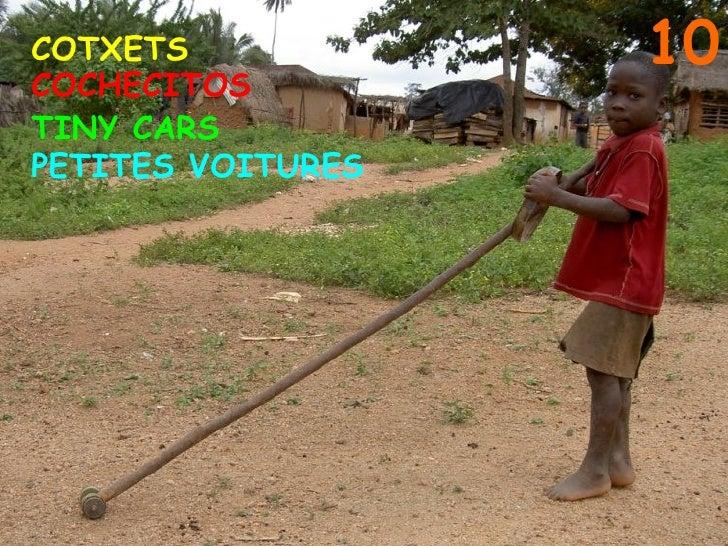 10 COTXETS COCHECITOS PETITES VOITURES TINY CARS