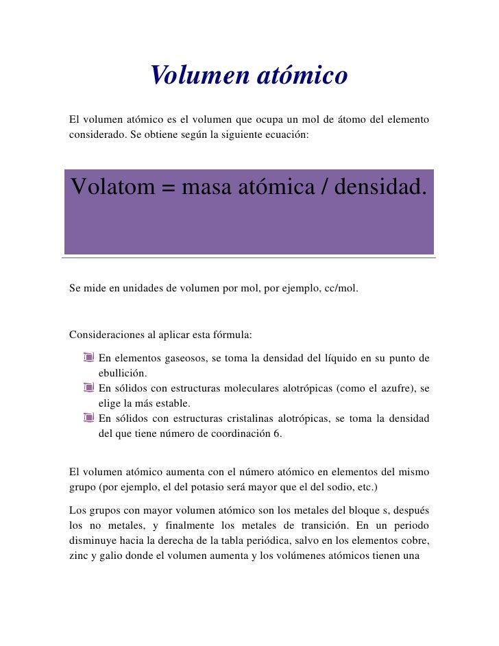 Blog 2 ultimas volumen atmicoel volumen atmico urtaz Gallery