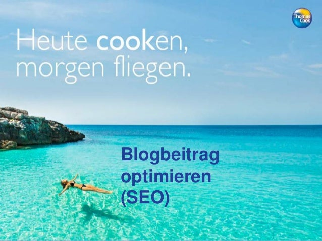 Blogbeitrag optimieren (SEO)