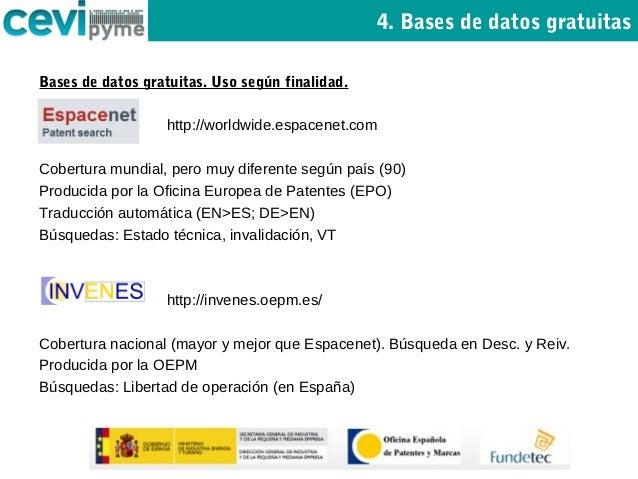 B squeda en bases de datos de patentes espacenet invenes for Oficina europea de patentes