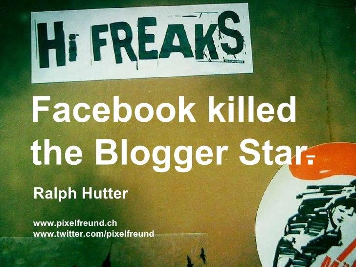 Ralph Hutter www.pixelfreund.ch  www.twitter.com/pixelfreund