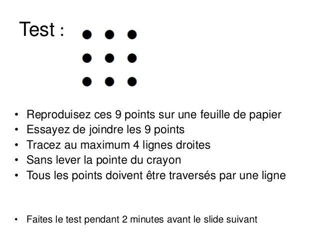 Blog comment penser autrement - Comment relier 9 points avec 4 traits ...