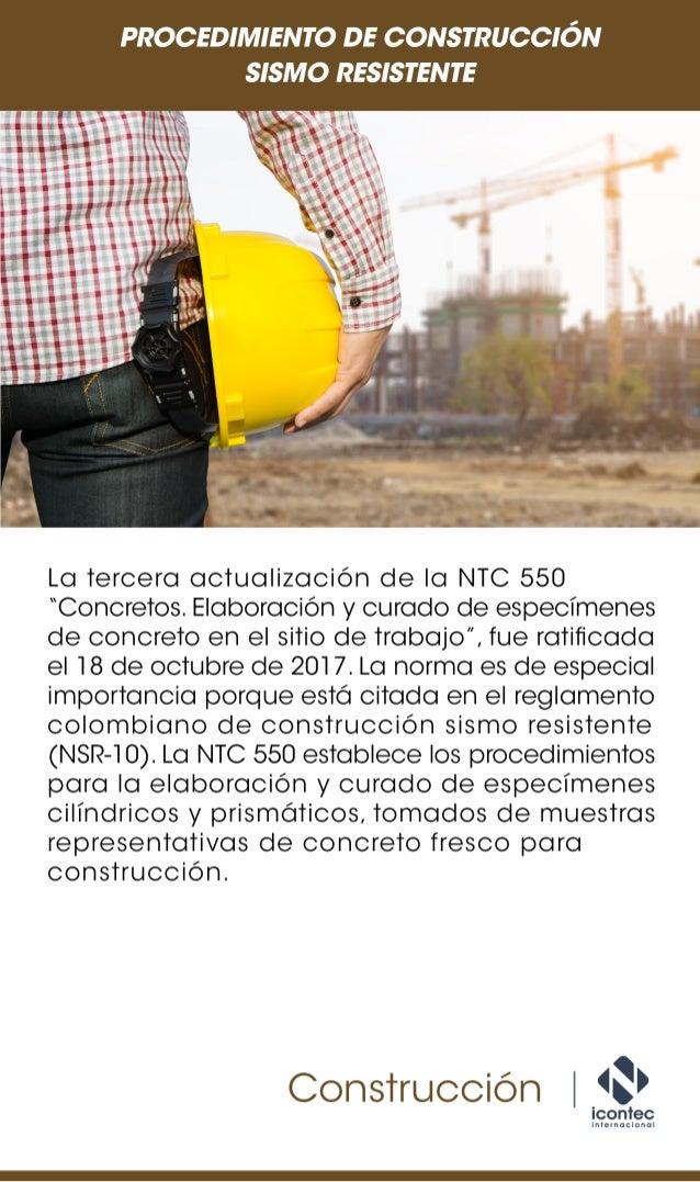 Procedimiento de construcción sismo resistente