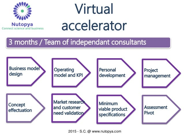 Technology Management Image: Virtual Accelerator And Incubator