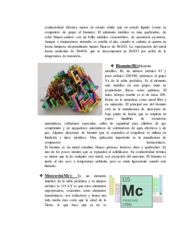 Carbonoideosnitrogenoideosanfigenos y halogenos 11 conductividad urtaz Gallery