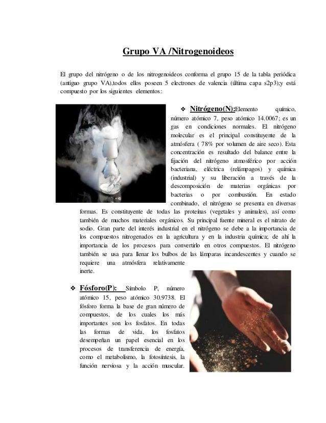 Carbonoideosnitrogenoideosanfigenos y halogenos 9 urtaz Gallery