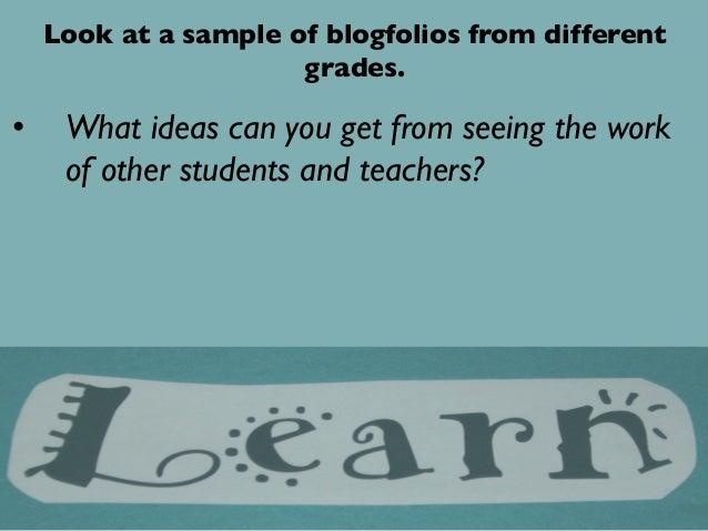 Blogfolios: Reflective Teacher Practice