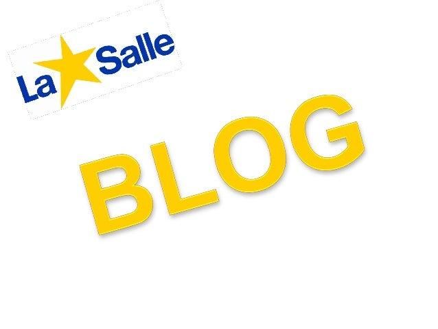 ¿QUE ES UN BLOG? • Un blog es un sitio web periódicamente actualizado que recopila cronologimante textos o artículos de un...
