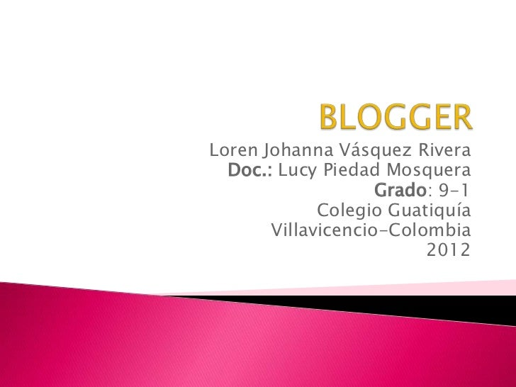 Loren Johanna Vásquez Rivera  Doc.: Lucy Piedad Mosquera                    Grado: 9-1             Colegio Guatiquía      ...