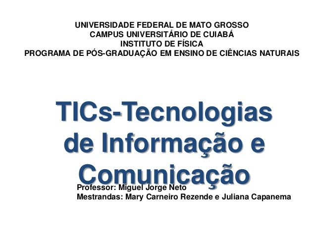 UNIVERSIDADE FEDERAL DE MATO GROSSO CAMPUS UNIVERSITÁRIO DE CUIABÁ INSTITUTO DE FÍSICA PROGRAMA DE PÓS-GRADUAÇÃO EM ENSINO...