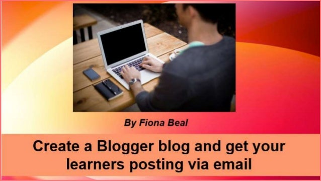Step 1: Sign up for a blog and create it