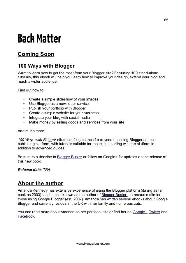 Google Blogger For Dummies Pdf