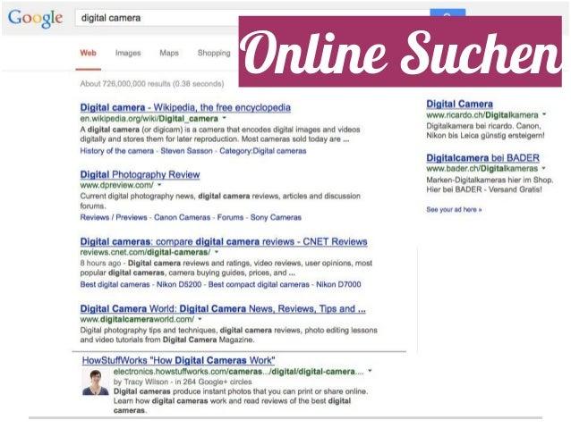 Online Suchen