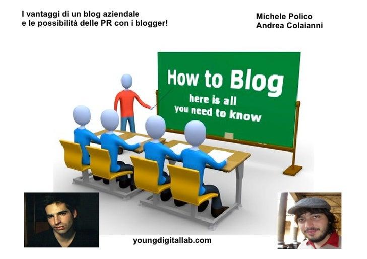 Tutti noisappiamoperchè è importante coinvolgere i bloggernellarelazionetra marche e consumatori?<br />E' la voce dell'ute...