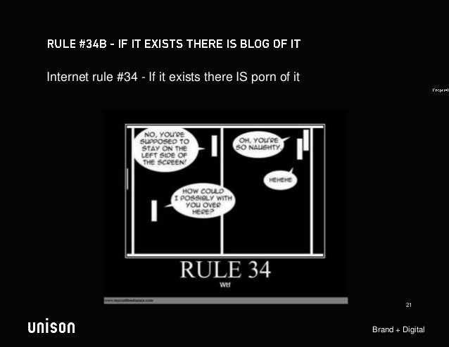Internet rule #34 - If it exists there IS porn of it                                                                21    ...