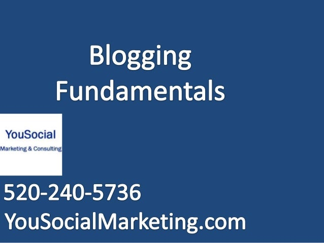 Getting Started • Where to get a Blog – Wordpress – Blogger – Type-pad – Active Rain  • Several options are free, however ...