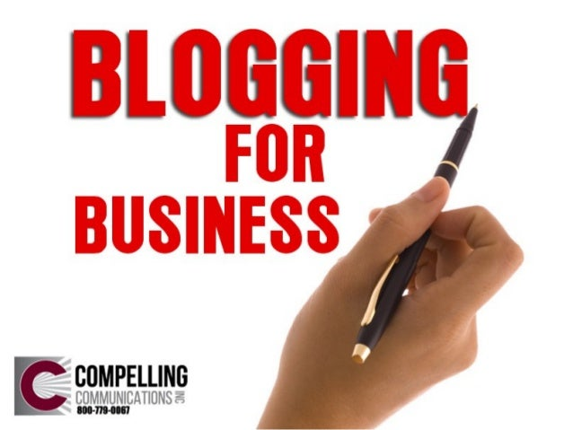 Your Blog. . .the Next Big Marketing Thing • Drive traffic to your site • Converts traffic to leads • Establish your autho...