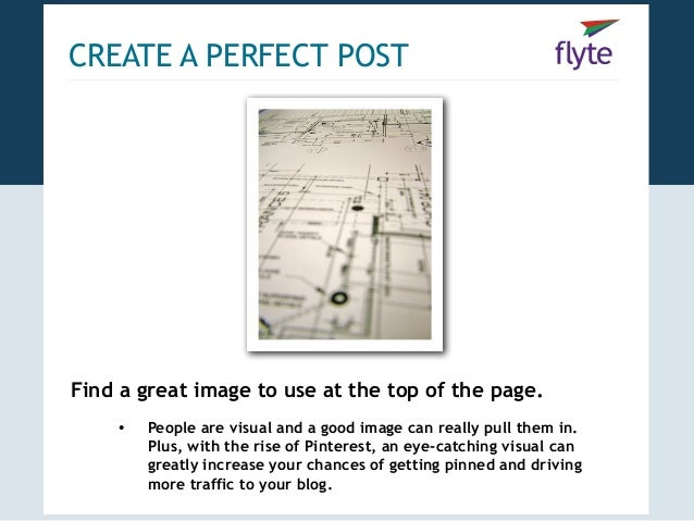 Blogging blueprint how to create promote the perfect post 13 create a perfect malvernweather Images