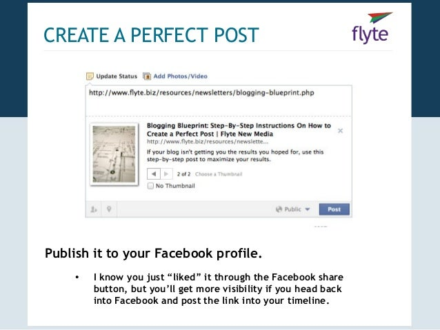 Blogging blueprint how to create promote the perfect post 22 create a perfect malvernweather Images